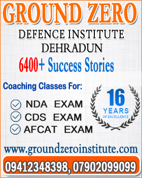 gorund zero defence coaching institute dehradun