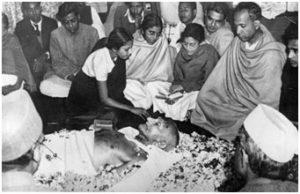 Gandhi assisination by nathuram godse 30jan1948