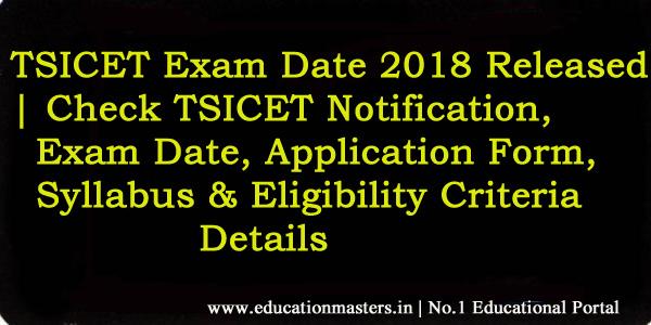 TSICET-Notification-2018